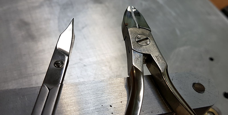 заточка маникюрных ножниц