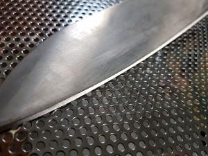 как затачивать нож