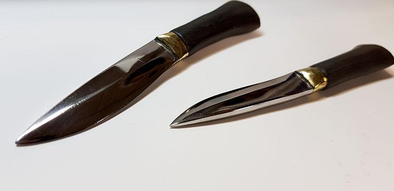 угол заточки ножа
