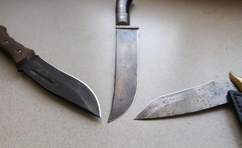 виды охотничьих ножей