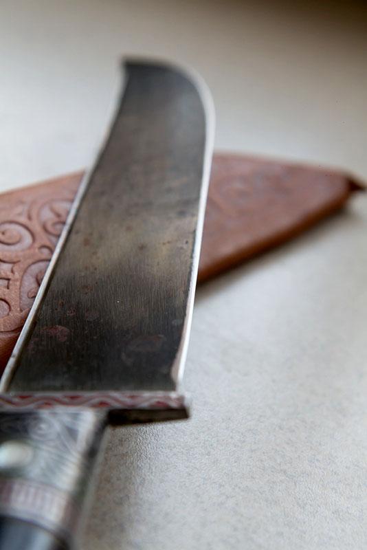 хранение ножа