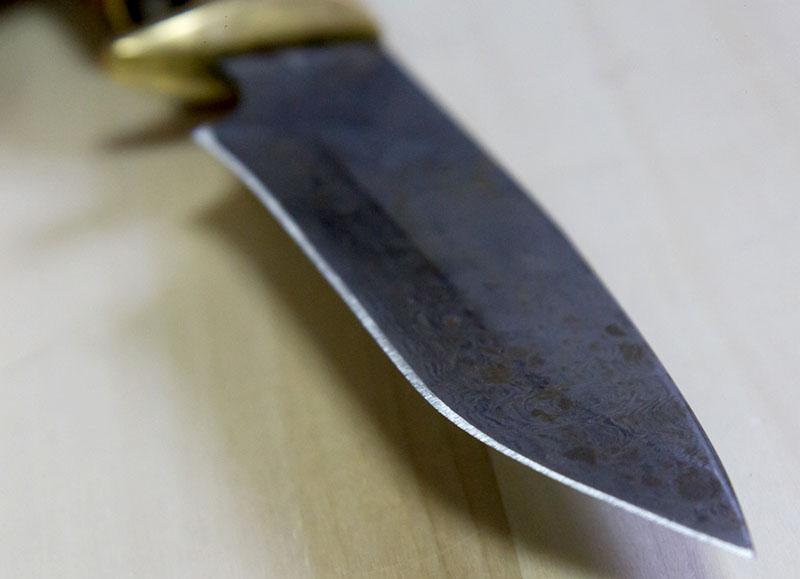 заточить нож у мастера