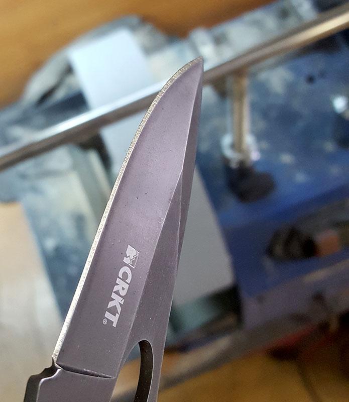 заточка складного ножа