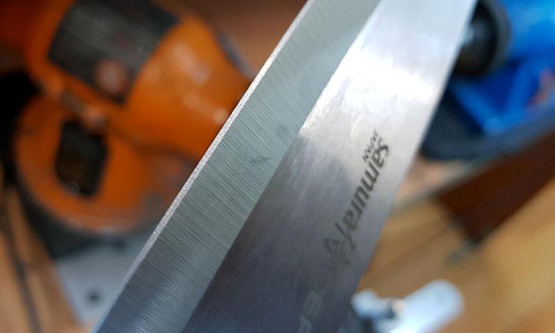 правила заточки ножа