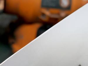 керамический нож после заточки