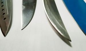 Полировка ножа после заточки