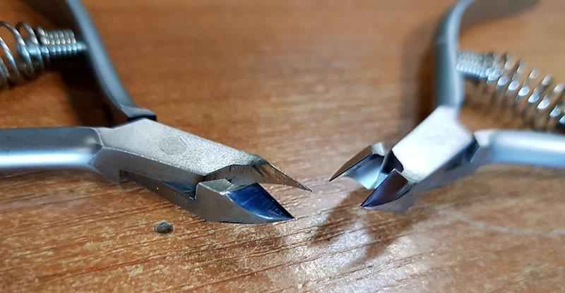 замена пружины кусачки