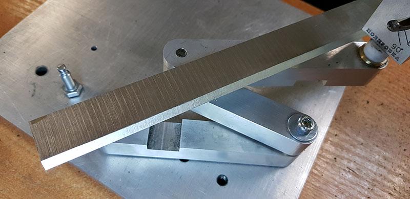 Заточка ножа рейсмуса